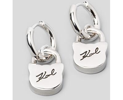 Kočičí náušnice Lock & Key 5512315