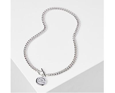 Slušivý náhrdelník s výrazným logem 5545252
