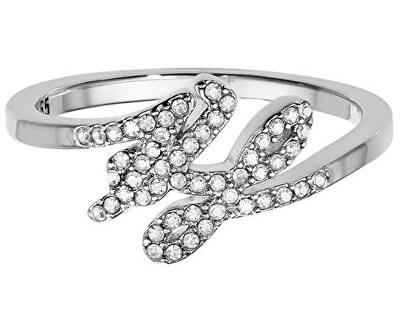 Prsten s krystaly Script Logo 551221
