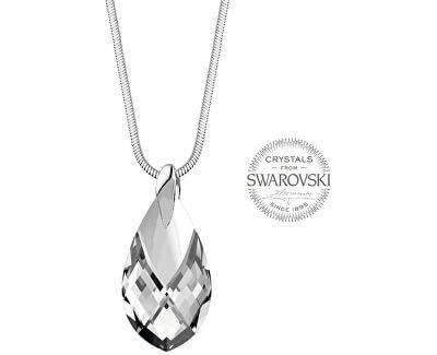 Dámský náhrdelník s krystalem Pear Metcap