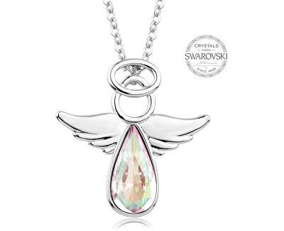 Náhrdelník s duhovým krystalem Angel Rafael