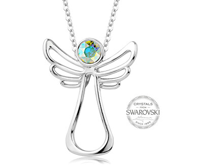 Náhrdelník s duhovým krystalem Guardian Angel