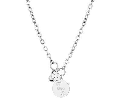 Ocelový náhrdelník pro štěstí LJ1145 - SLEVA