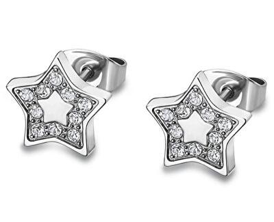 Hvězdičkové náušnice s krystaly LS1885-4/1