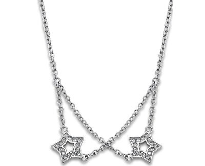 Hvězdičkový náhrdelník s krystaly LS1885-1/1