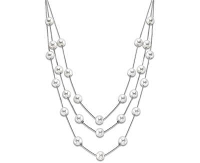 Náhrdelník s levitujícími perličkami LS1998-1/1