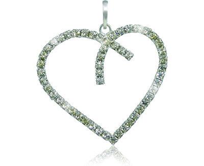 Náhrdelník Srdce Crystal 3194 (řetízek, přívěsek)