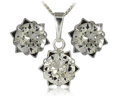 Souprava šperků Daisy 34196 (náušnice, řetízek, přívěsek)