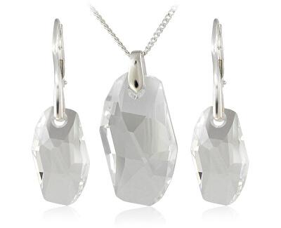 Souprava šperků Meteor Crystal 34183 (náušnice, řetízek, přívěsek)
