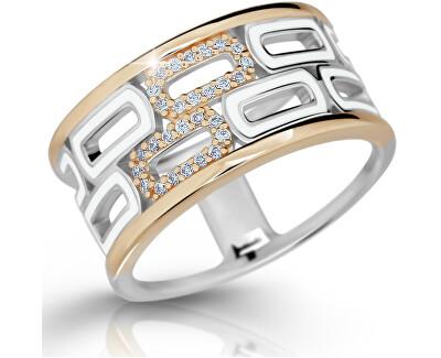 Modesi Exklusivní stříbrný prsten M11074