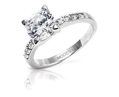 Prsten se třpytivými krystaly JTA1001