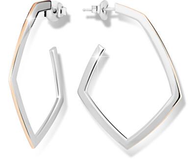 Modesi Stříbrné bicolor náušnice M26011