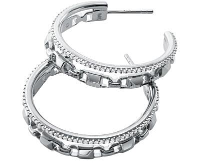 Cercei de lux din argint cercuri MKC1014AN040