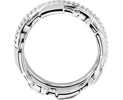 Inel modern dublu din argint MKC1025AN040