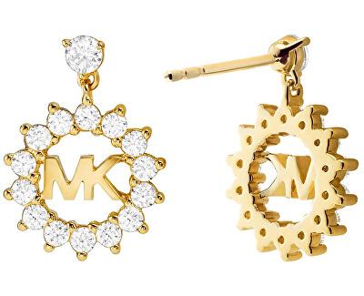 Cercei minunați placați cu aur MKC1254AN710