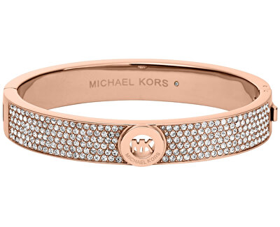 Michael Kors Brățară de lux din bronz cu cristale MKJ4000791