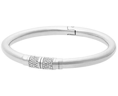 Michael Kors Pevný ocelový náramek s krystaly MKJ4916040