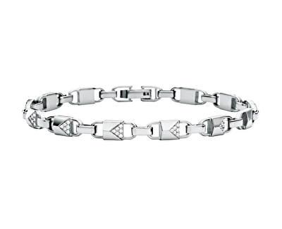 Aranyozott ezüst karkötő cirkónium kövekkel MKC1004AN040