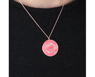 Bronzový náhrdelník ze stříbra s přívěskem Perfetta SALX10 (řetízek, přívěsek)