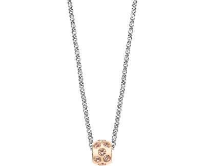 Ocelový bicolor náhrdelník Drops SCZ316