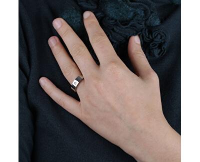 Ocelový prsten Love Rings S8515