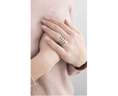 Ocelový prsten Luci SACR10