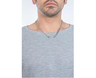 Pánský ocelový náhrdelník Rocce SALS01