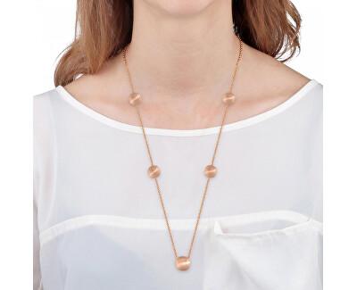 Růžově zlacený náhrdelník Gemma SAKK99