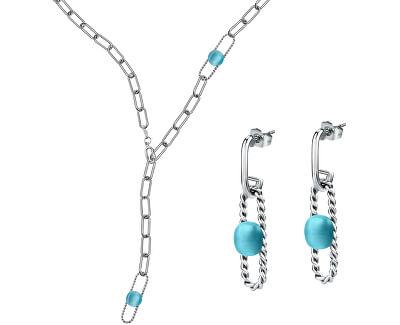 Exkluzivní zvýhodně sada šperků 1930 SATP24 (multifunkční náhrdelník SATP15 + náušnice SATP17)