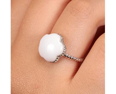 Krásný stříbrný prsten Natura SATO10