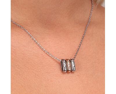 Nadčasový ocelový náhrdelník Insieme SAKM77