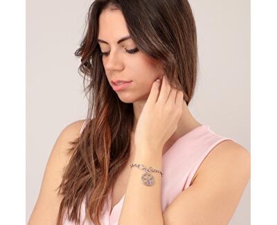 Něžný dámský náramek s přívěskem Fiore SATE09