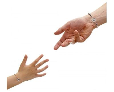 Ocelová sada náramků Mom&Daughter With you SASW03