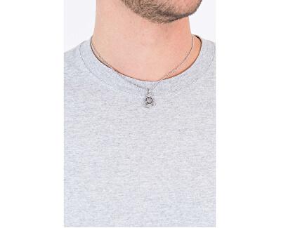 Pánský ocelový náhrdelník s kotvou Vela SAHC09 (řetízek, přívěsek)