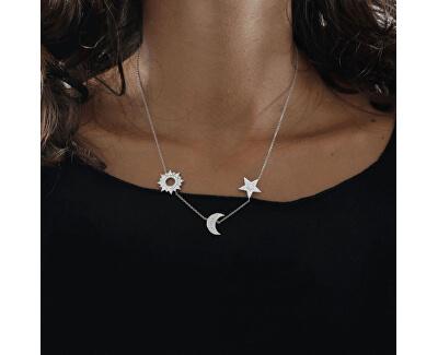 Luxusní stříbrný náhrdelník Michelle SAHP01