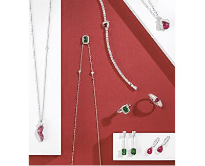 Stříbrný náhrdelník s papričkou Tesori SAIW71 (řetízek, přívěsek)