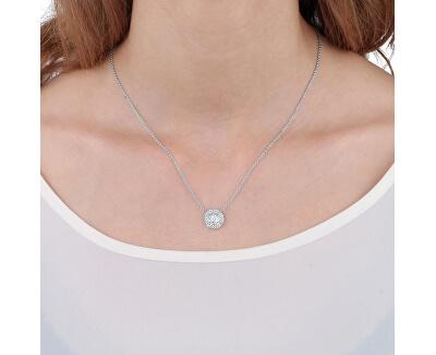 Stříbrný náhrdelník s třpytivým přívěskem Tesori SAIW64 (řetízek, přívěsek)