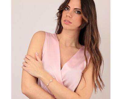 Stříbrný náramek s perlami Gemma Perla SATC08