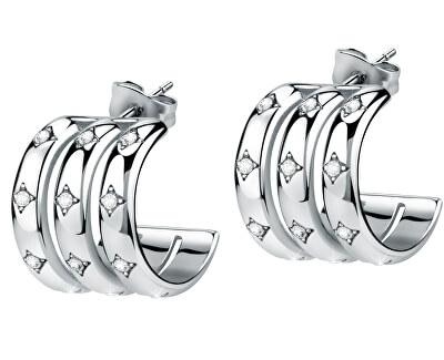 Dámské luxusní náušnice kruhy Insieme SAKM79