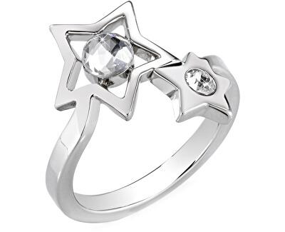 Morellato Hvězdný prsten s krystaly Cosmo SAKI17