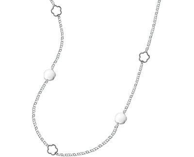 Krásný stříbrný náhrdelník Natura SATO01