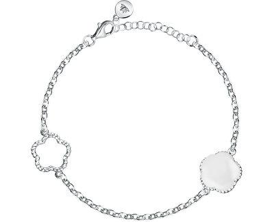 Krásný stříbrný náramek Natura SATO08