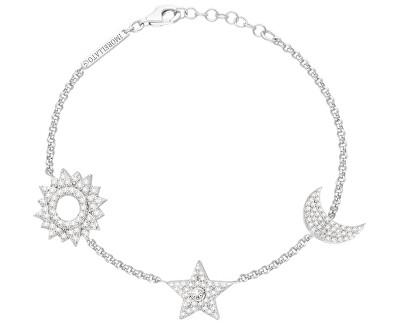 Luxusní stříbrný náramek Michelle SAHP04