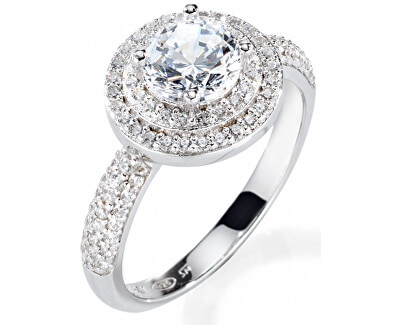 Luxusní stříbrný prsten Tesori SAIW08