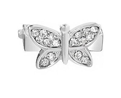 Fluture cu cristale transparentepentru brățări Sensazioni SAJT10