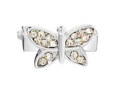 Fluture cu cristale de aur bratari Sensazione SAJT11