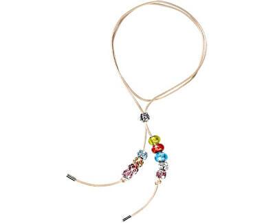 Morellato Saténový náhrdelník Drops Beige SCZH2