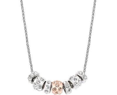 Morellato Ocelový bicolor náhrdelník Drops Jewel SCZ341