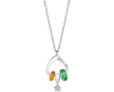 Ocelový náhrdelník Drops SCZ036