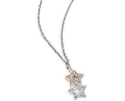 Morellato Ocelový náhrdelník s hvězdami Abbraccio SABG02